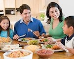 Family conversations at mealtimes boost confidence