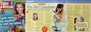 Nutritionist Resource featured in Take a Break magazine