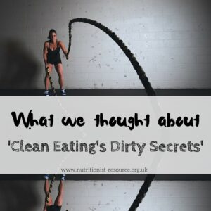 CleanEating-DirtySecrets