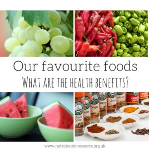 Our favourite foods