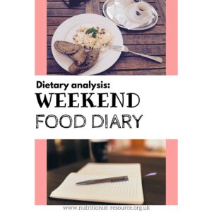 weekend-diary