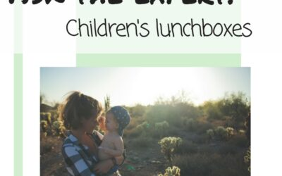 Ask the expert: Children's lunchboxes