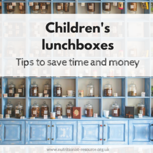 Children's lunchboxes tips