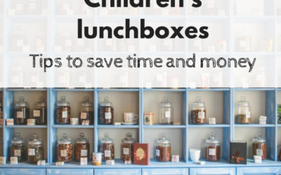 Children's lunchboxes - our tips to save time and money