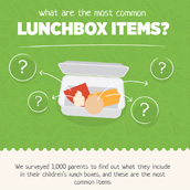 Common lunchbox items