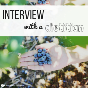 Interview-Dietitian