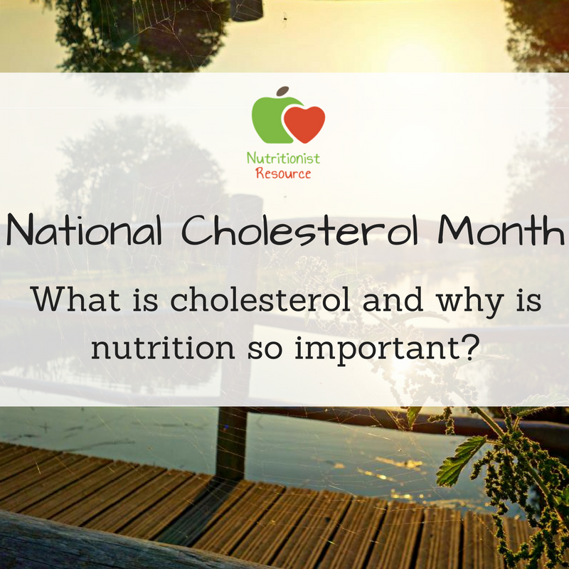 What is cholesterol and why is nutrition so important_