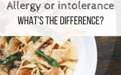 Allergy or intolerance, what's the difference?