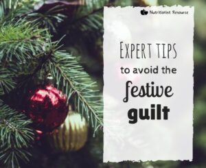 avoid the festive guilt