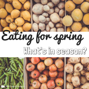 Eating for spring - what food is in season?