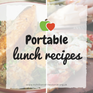 Portable lunch recipes