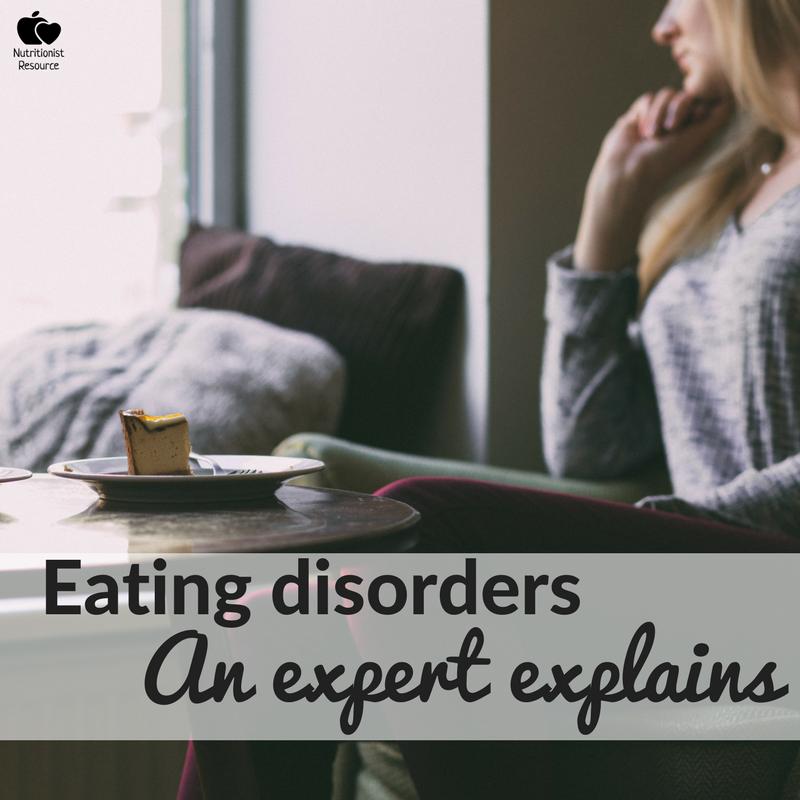 eating disorders - how is a nutrition professional involved in recovery?