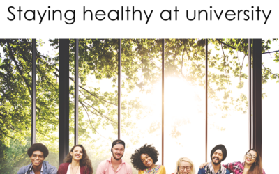 Tips to stay healthy at university