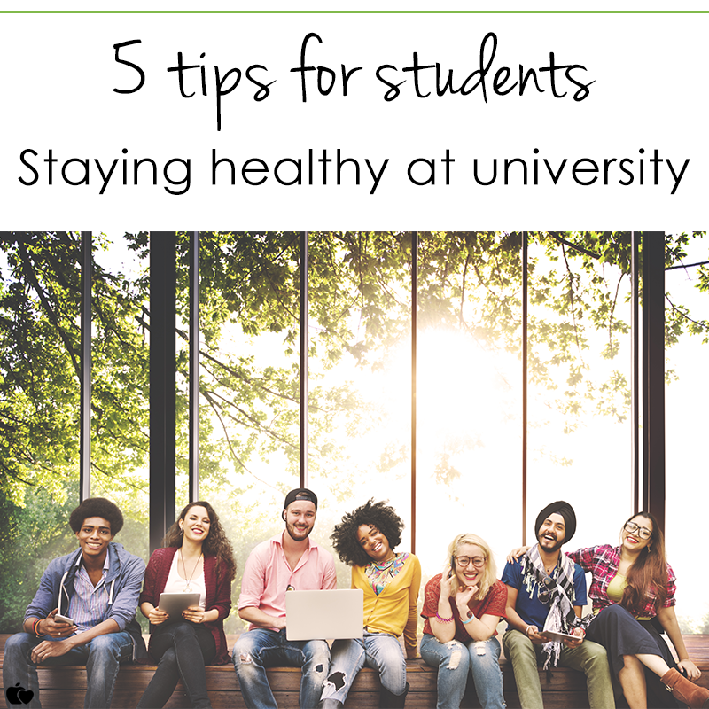 top tips for staying healthy at university