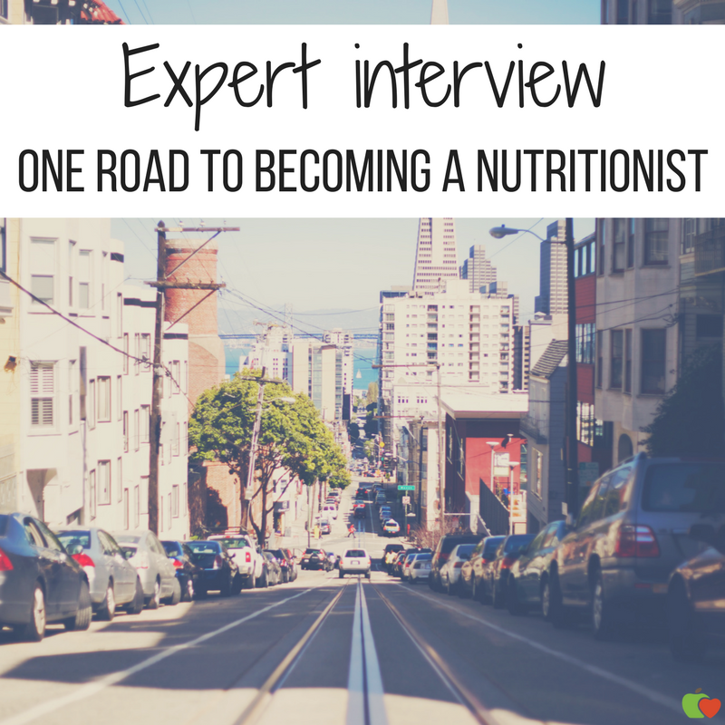 expert interview: one road to becoming a nutritionist