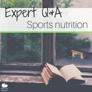 expert interview sports nutrition