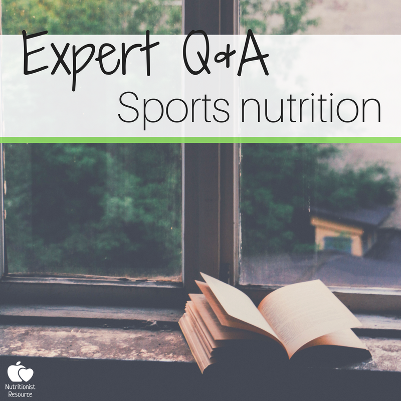 expert interview sports nutrition