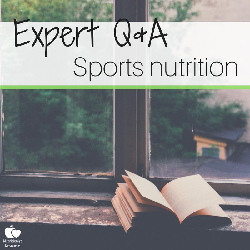 专家采访体育营养