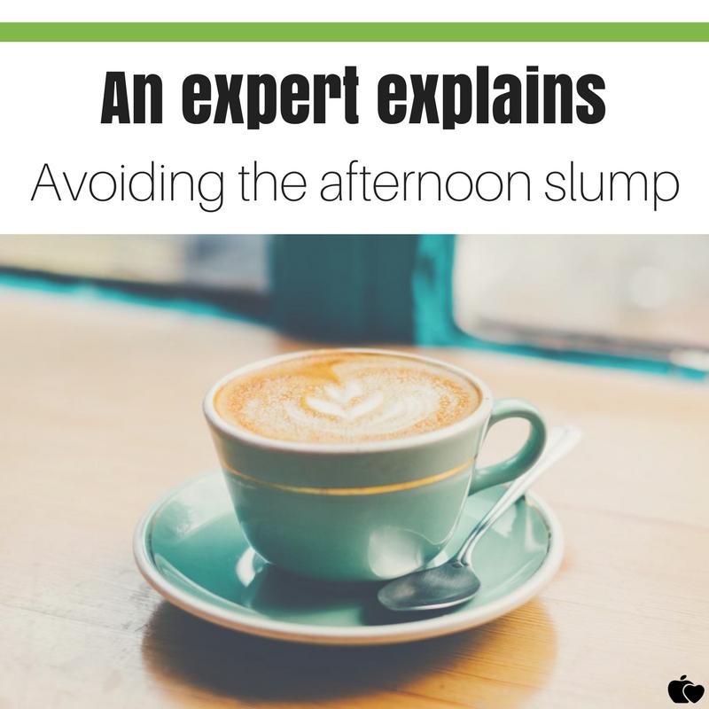 Nutritionist tips for avoiding the afternoon energy slump