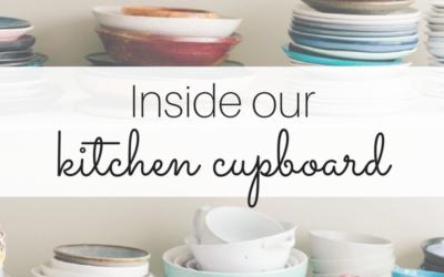 Our kitchen cupboard essentials