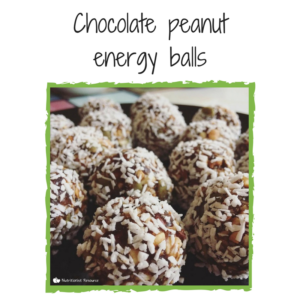 Nutritionist Resource recipe - chooclate peanut energy balls
