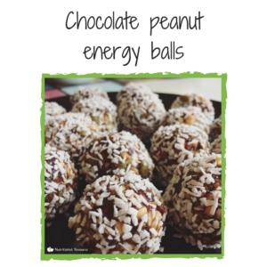 Nutritionist Resource recipe - chooclate peanut energy balls