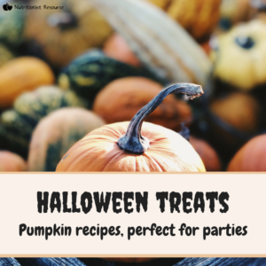 halloween treats and autumn recipes