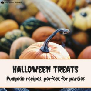 halloween treats and autumn recipes