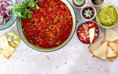 3-bean dream chilli recipe