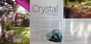 Therapy Directory featured in Just 4 Her magazine