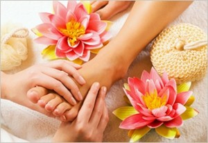 DIY Ayurvedic foot massage
