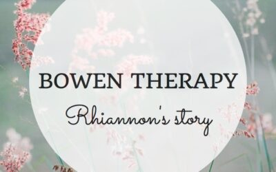 My experience of Bowen therapy