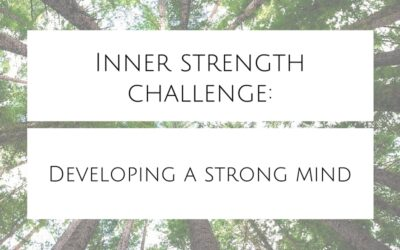 Inner strength challenge: Developing a strong mind