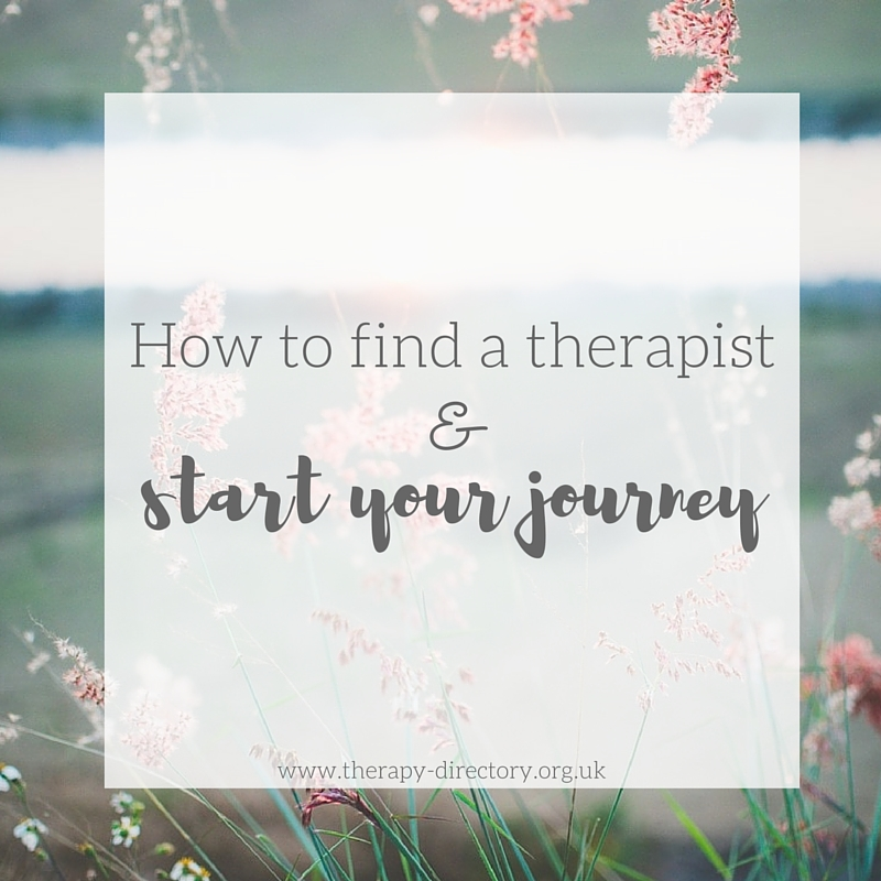 How to find a therapist