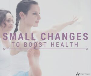 small changes to boost health