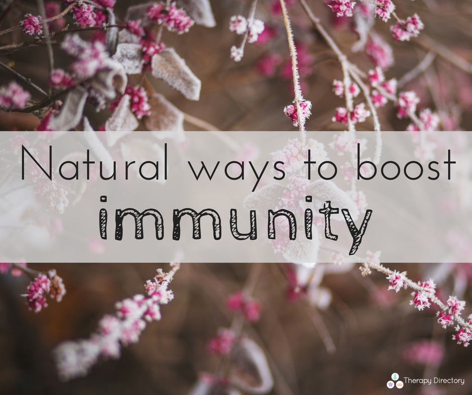 Natural ways to boost immunity