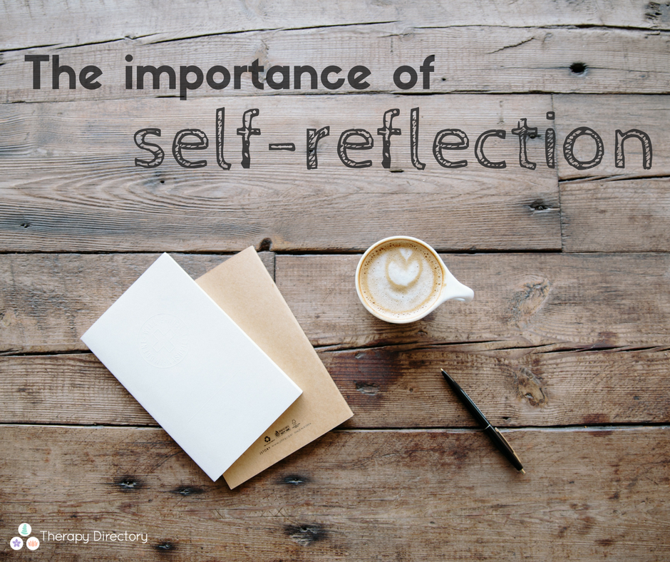 self reflection therapy importance why directory future plan looking help