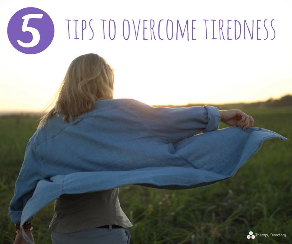 5 tips to overcome tiredness