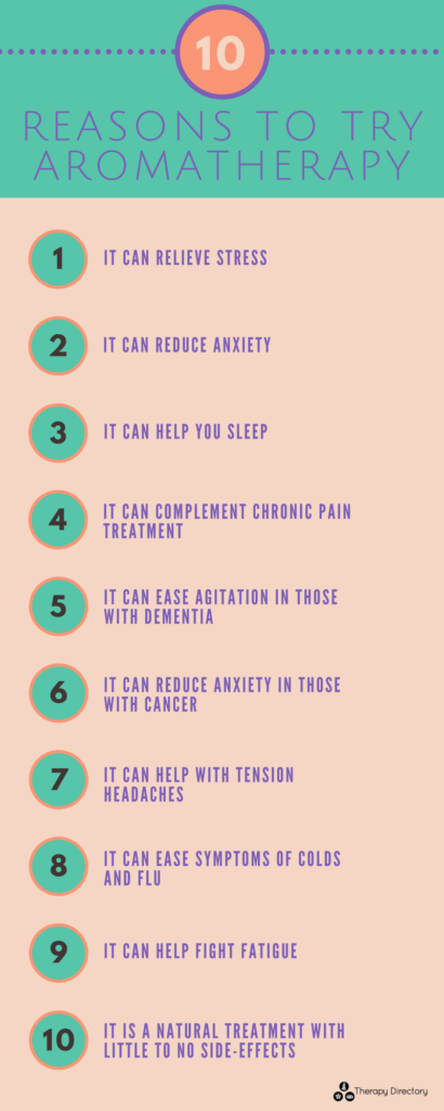 10 Reasons To Try Aromatherapy Therapy Directory