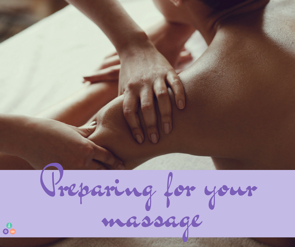 tips to prepare for your massage