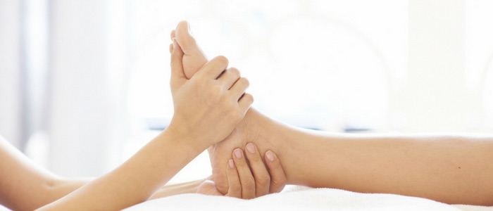 Reflexology treatment