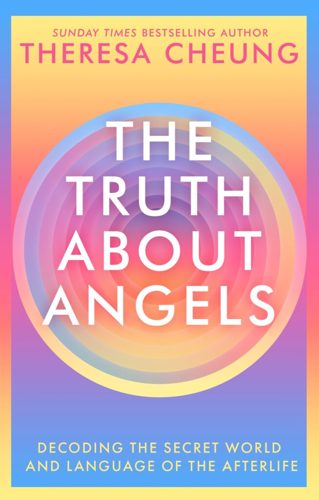 Book cover for The Truth about Angels by Theresa Chung