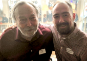 Chris Rudyard training with Dr. Stephen Porges