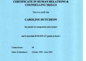 Human Relations & Counselling Skills 1