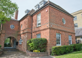 Entrance to Gatcombe House Reception