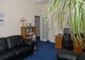 Otago Consulting Rooms, 13 Queen Square, LS2 8AJ<br />A comfortable waiting room provides a quiet space for you prior to meeting me for your session