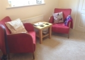 Cosy counselling room
