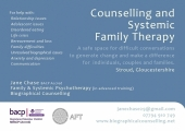 Jane Chase Psychotherapy for Individuals, Couples & Families image 1