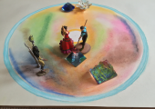Therapeutic Art used in conjunction with Sandplay Therapy