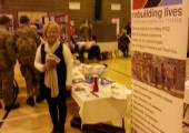Raising Awareness and funds for PTSD Resolution<br />2012-Health Fair Rock Barracks, Woodbridge